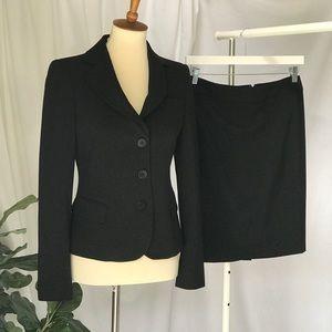 Armani Collezioni Skirt Suit ( Size 4 )